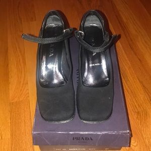 Prada Mary Jane heels